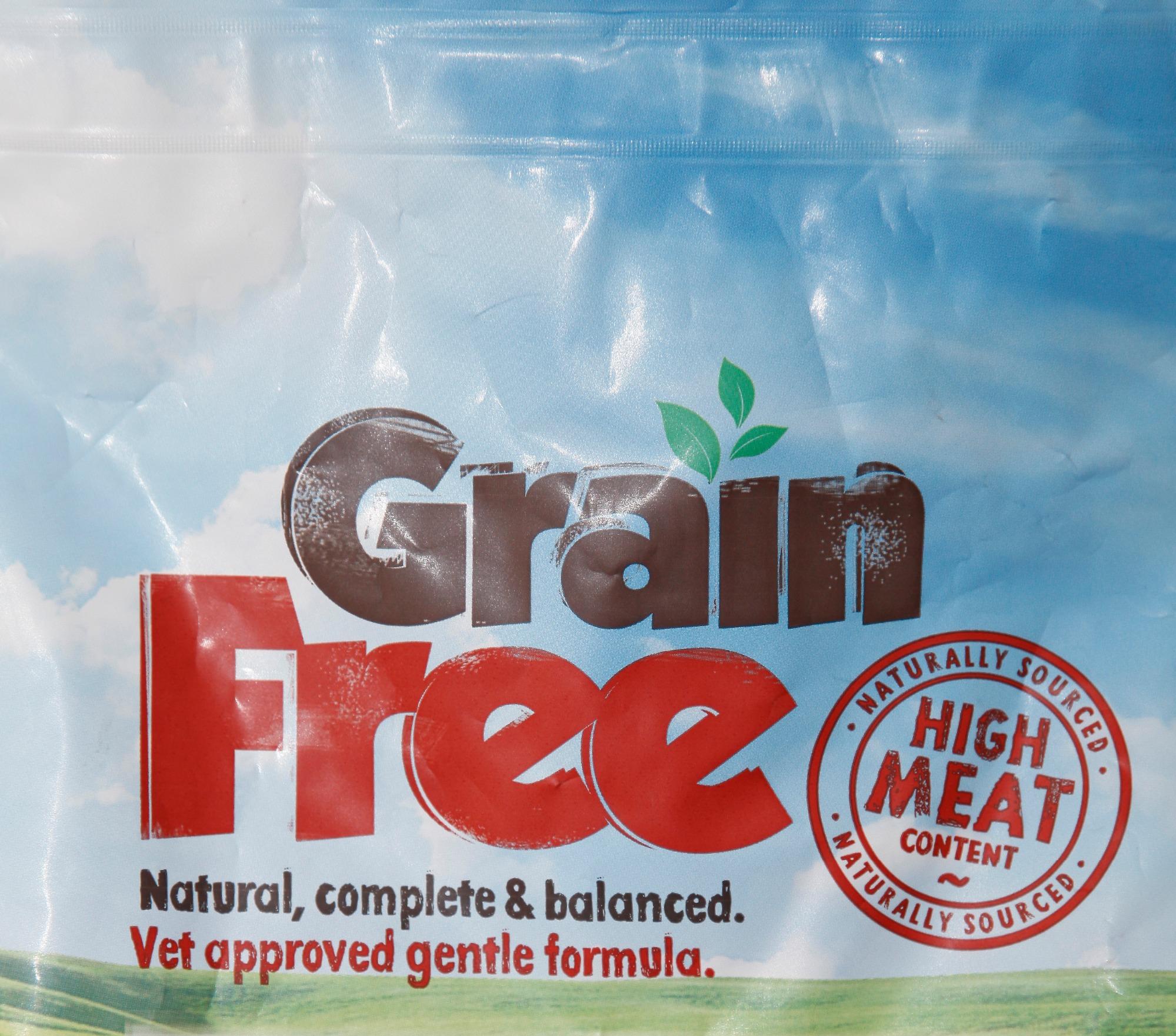 Grain Free Salmon, Trout, Sweet Potato &