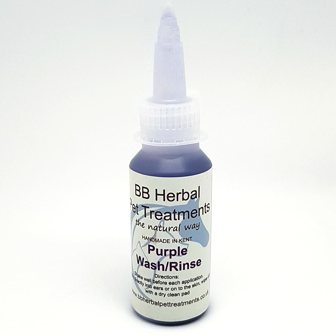 Purple Wash Rinse