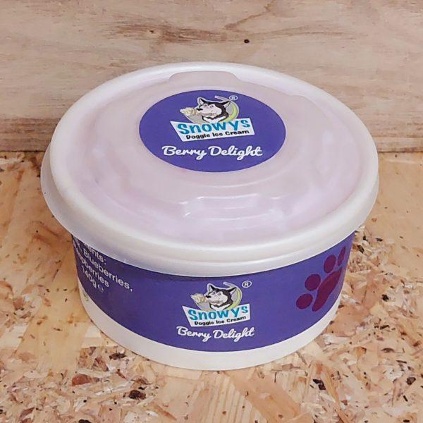 Snowys Doggie Ice Cream - Berry Delight
