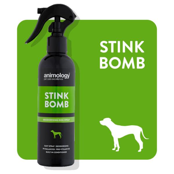 Animology - Stink Bomb Deodorising Dog Spray - 250ml